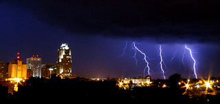 Raleigh Lightning Storm - July 19