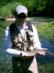 Sylamore Creek Rainbow (Clyde!) Tags: flyfishing whiteriver sylamorecreek rainbowtrout trout fishing