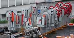 Road sign parade (mrjorgen) Tags: signs sign oslo norway roadsign streetsigns roadsigns skilt trafficsign trafficsigns lodalen ekeberg trafikkskilt mestayard underskogno kværner