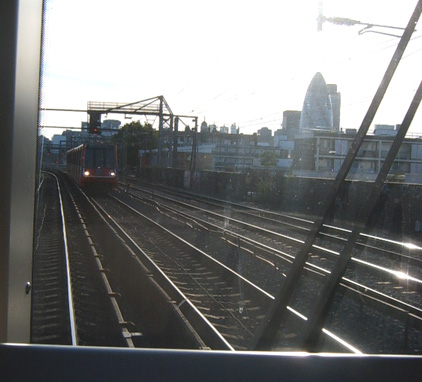 Driver's View leaving Shadwell