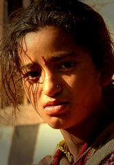 Mountain Tribals - 15 (Sanzen) Tags: mountain tribals woman light eyes ethnic