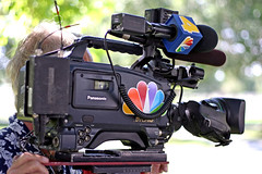 NBC News Camera (Shavar Ross) Tags: 2005 park camera news hot color television canon nbc 50mm tv video july2005 parks photojournalism objects sunny location videocamera anchor journalism journalist reporting newsreporter localnews objectivity newsanchor standardlens televisionstation tvanchor shavarrosscom