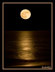 Ocean Moonrise (hodad66) Tags: moon water florida 1025fav wow