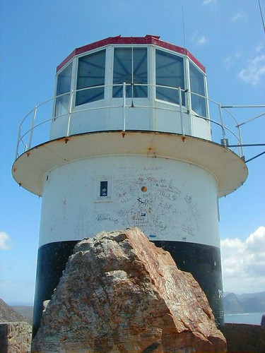 Capepoint Peak lighthouse, South Africa