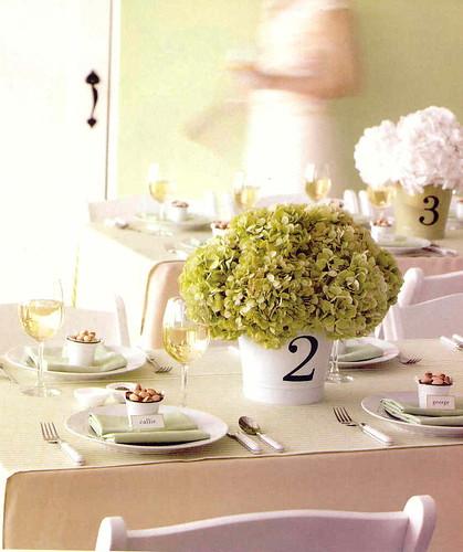 Hydrangea Wedding Centerpieces. hydrangea centerpiece