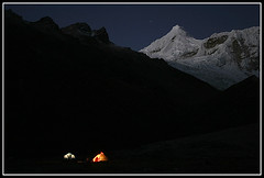 Ishinca Base Camp (escher is still alive) Tags: peru expedition climbing blanca andes cordillera alpinism cordillerablanca