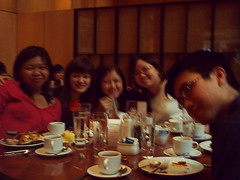 4 girls and 1 erm.. man? (The Rational Neurotic) Tags: ms dept 551 apoc high tea marriot we all fat now