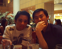 ah wei and mj (The Rational Neurotic) Tags: ms dept 551 apoc high tea marriot we all fat now