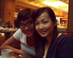 Shernice and me (The Rational Neurotic) Tags: ms dept 551 apoc high tea marriot we all fat now
