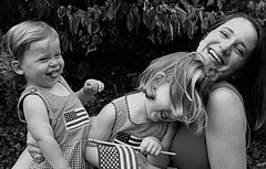 tickle time (-Angela) Tags: 2005 summer blackandwhite silly me canon siblings parent 2550fav notbyme fourthofjuly mykids 4thofjuly angela momma 2005top100faves