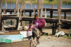 Woman and Children, Santiago Atitlán