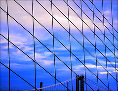 NYC Bridge Scape - by gaspi *yg