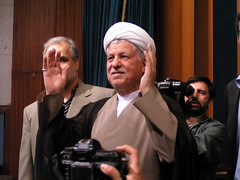 Hashemi Rafsanjani at Tehran University