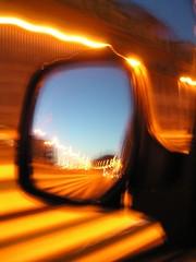 daily laser mirror (video_max) Tags: daily mirror rome tunnel black dark italia car macchin specchietto retrovisore guardare dietro indietro back anger fari