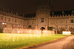 Spirits of the night (John Wallace Photography) Tags: ireland irish white art children university cork ghost performance culture running spooky ucc quadrangle capitalofculture cork2005 whitequadrangle jwallace johnew johnwallace