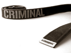 criminal (macca) Tags: belt duotone criminal whiteground