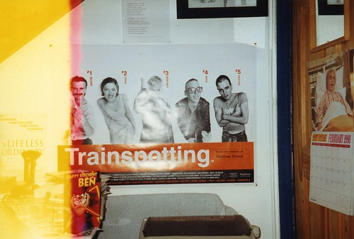 Trainspotting Sick Boy. Trainspotting poster