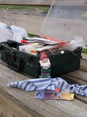 Gnome Dawg Goes Fishing