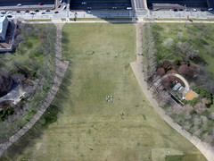 From atop the St. Louis Arch 1 (Peter James Zielinski) Tags: stlouis arch hi people grass birdseyeview sidewalk