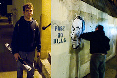 No bills (EXP1) Tags: sanfrancisco street vandal billcosby urbanrenewalartist bapfs
