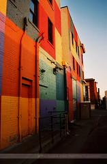 Rainbow Building, Minneapolis, Minnesota (Seven Seconds Before Sunrise) Tags: minnesota architecture unitedstates minneapolis uptown twincities