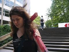P1230109 (quox | xonb) Tags: germany landtag europe stuttgart gegenstudiengebhren kunst protest kreuze spontanaktion galgen