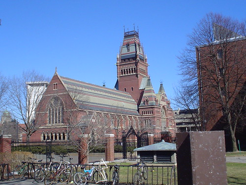 Cambridge - Memorial Hall, Harvard University by bunkosquad.