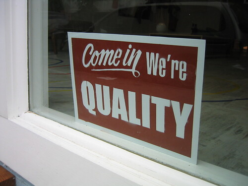 we're quality by Shira Golding, on Flickr