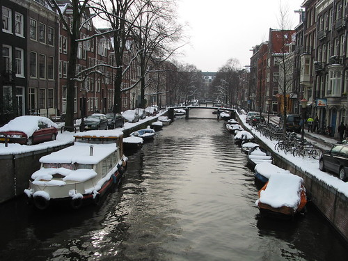 Amsterdam en blanco
