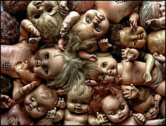 (shadowplay) Tags: eyes hands dolls heads damage disturbing oddness lament 1500v60f