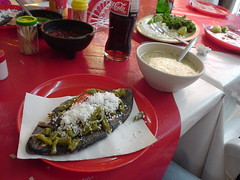 Tlacoyo (hukes) Tags: food breakfast tlacoyo tlacoyos soup barbacoa chalma mexico