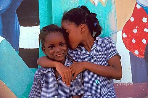 Bajan Schoolgirls