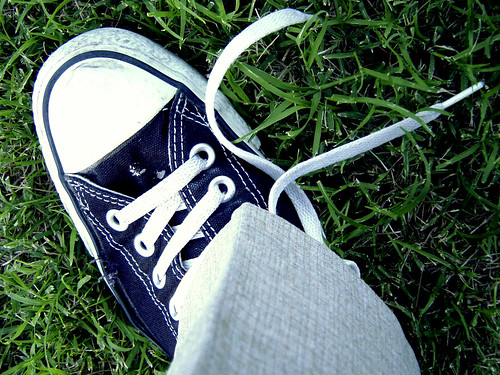 The Shoe That Became Untied by *Just Justin*, on Flickr