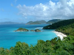 Trunk Bay, St. John, US Virgin Islands (Yirong & Rui) Tags: cruise 2004 caribbean usvirginislands trunkbay stjohn beach