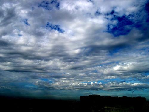 Clouds in Chennai - June 2005