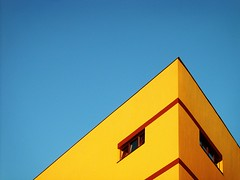 sad building (*helmen) Tags: blue sky color building topf25 yellow topv111 architecture catchycolors fantastic topf50 topv555 topv333 europe republic sad czech outdoor topc50 topv444 topv222 brno 25 czechrepublic 300 topphotoblog