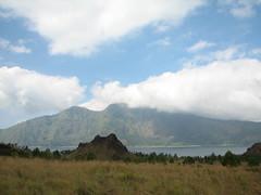 Mt Abang and Lake Batur (Naifla Iniaz) Tags: mountbatur batur bali lakebatur danaubatur