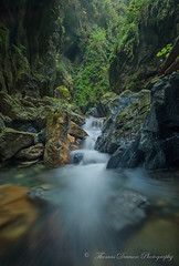 A Little Further - Vancouver Island, Canada (Thomas J Dawson) Tags: vancouverisland slotcanyon creek thomasdawsonphotography waterfall