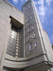 Art Deco Dawg (phool 4  XC) Tags: greyhound newyork architecture modernism landmark artdeco binghamton busterminal streamlinemoderne gonebutnotforgotten  toweringsignage phool4xc