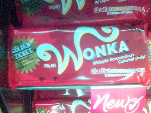 wonka chocolate food cameraphone k700i