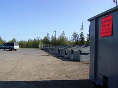 28 dumpsters (tomatochild) Tags: northpole fairbanks