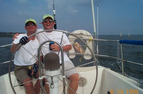 Sailing: Craig & Dave on Krugerrand