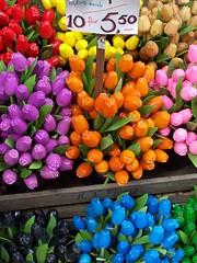 wooden tulips III - by S@Z