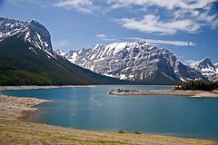 Before the June flood #1 (JoLoLog) Tags: blue lake canada mountains green water kananaskis alberta moshe kananaskiscountry canadianrockies upperkananaskislake