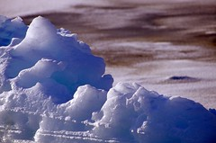 In The Dark Of The Ice (davebrosha) Tags: masters 2003 resolutebay iceberg abstract ice arcticocean arctic nunavut