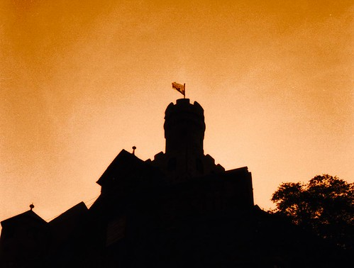 Castle At Sunset by Fugue.