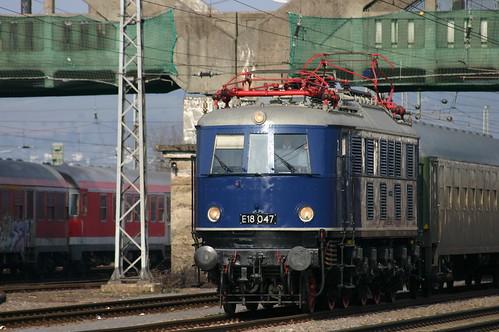 DB E18 047 Trier-Nord
