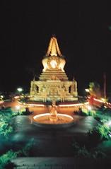 stupa at night (taltul!!!) Tags: kpn