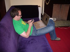 Television multitasking - photo by Brett L from Flickr under Creative Commons