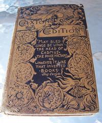 caxton edition, 1889 (Valentinian) Tags: book antique victorian literature oldbooks 1889 pompeii